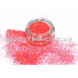 Блестки для ногтей Lidan в баночке, цвет - фуксия