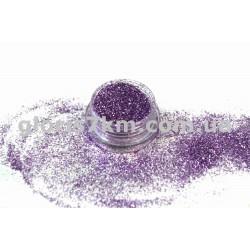 Блестки для ногтей Lidan в баночке, цвет - темно-сиреневый