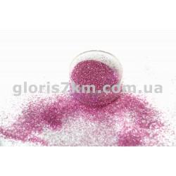 Блестки для ногтей Lidan в баночке, цвет - пастельно-розовый