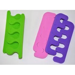 растопырка педикюрная цветная в индивидуальной упаковке уп.12