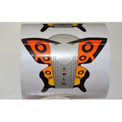 форма для наращивания бабочка 300шт
