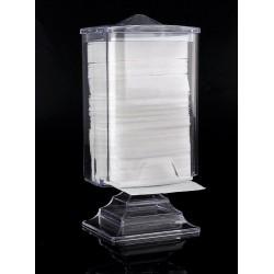 Пластиковая подставка для салфеток и бумаг