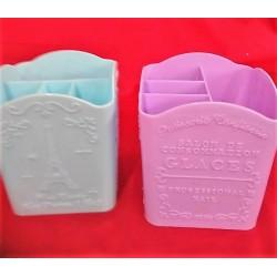 палстиковая подставка для кистей GLACER цветная код 063