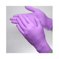 Перчатки нитриловые (уп.80шт) без пудры фиолетовый Мицни p.M