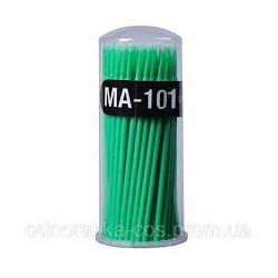 микробраш для ресниц MA-101 зеленый