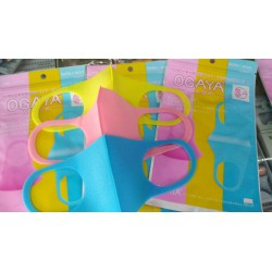 маска для лица цветная детская уп. 3шт OGAYA