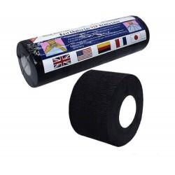 воротнички бумажные для парикмахеров BARBER черные картон втулка