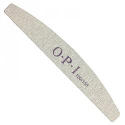 пилка OPI серая 100/150 форма дуга уп.25шт