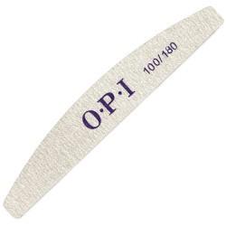 пилка OPI серая 100/180 форма дуга уп.25шт