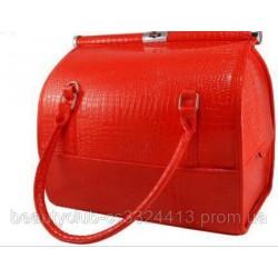 кожанный кейс-сумка для инструмента Чемодан-сумка
