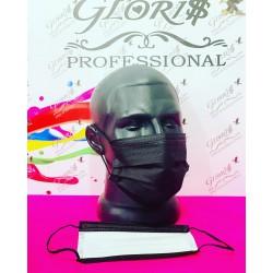 маска защитная 3-слойная с фиксатором Китай в коробке уп 50шт