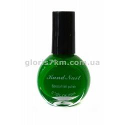 Лак-краска для стемпинга Kand Nail №3, цвет - зеленый