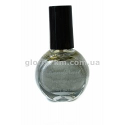 Лак-краска для стемпинга Kand Nail №9, цвет - серебро