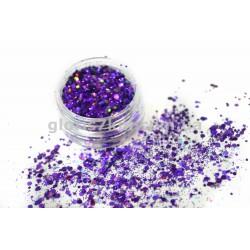 Брокат - 03 фиолетовый