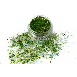 Брокат - 04 темно-зеленый