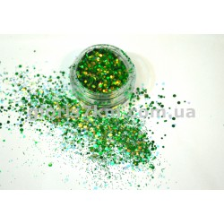 Брокат - 08 зеленый