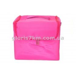 сумкка для инструмента выдвижные полки роз полиэстр