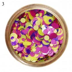Конфетти (камифубуки) для декора ногтей